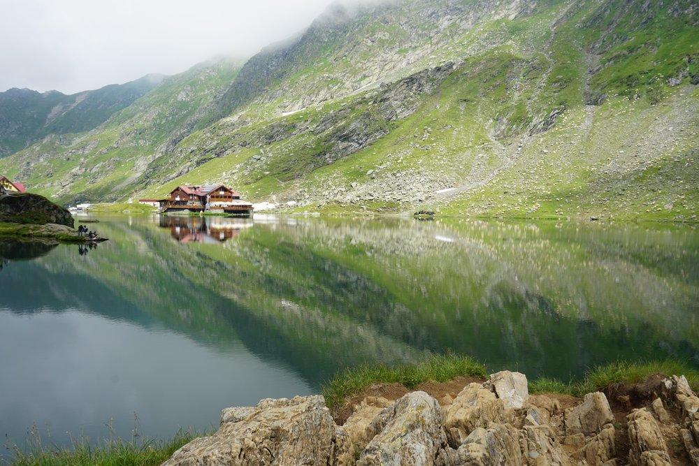 Balea Glacier Lake -