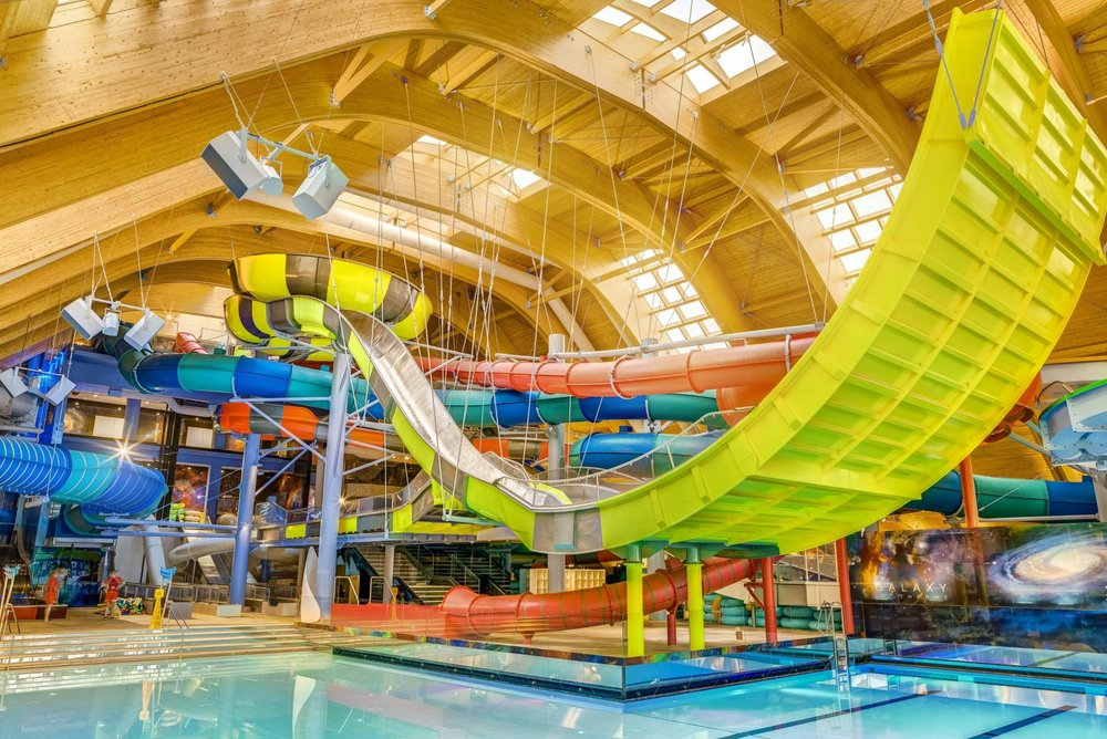 Exciting Water Rides & SPA  -