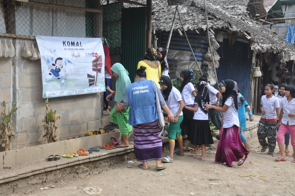 The SGBV 16 day Activity screenings of KOMAL in Mae La Camp