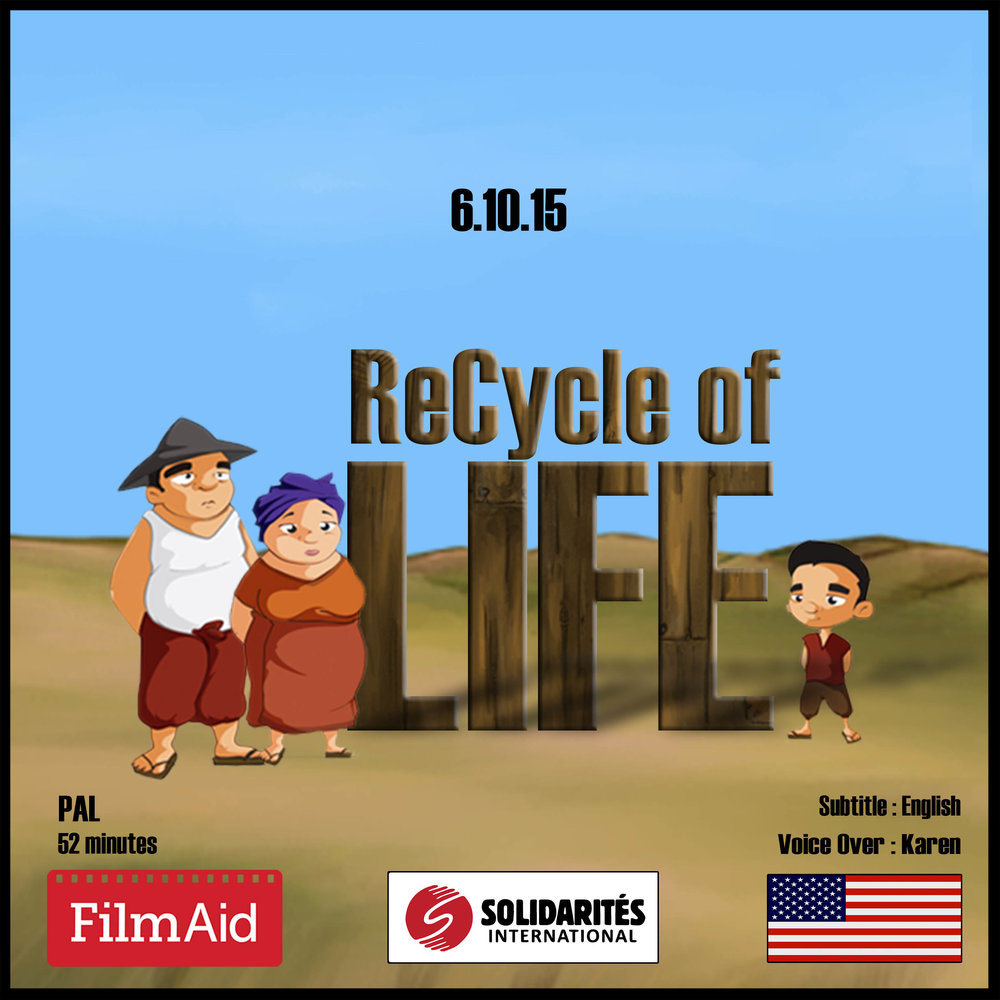 RECYCLE OF LIFE   A 45-minute animated drama film which highlights good  environmental  behaviours related to sustainable farming practices and sound waste management.
