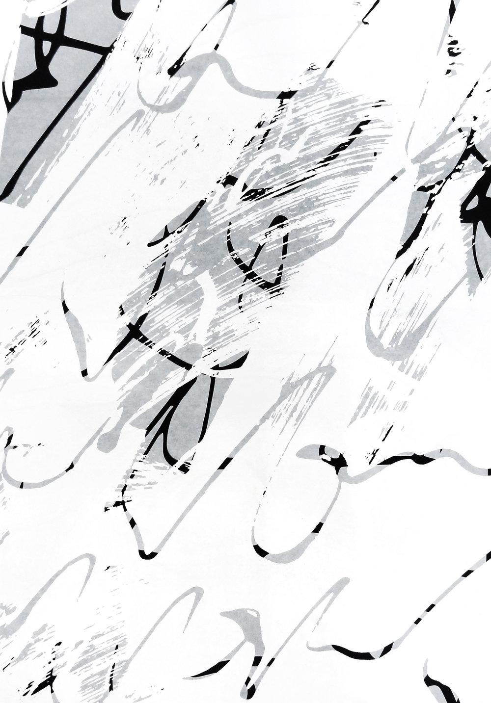 Untitled, 2018 acrylic on paper one-off screenprint 57 x 40 cm (29-18)