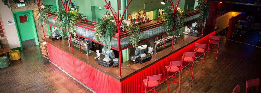 Bar Plant Installation London