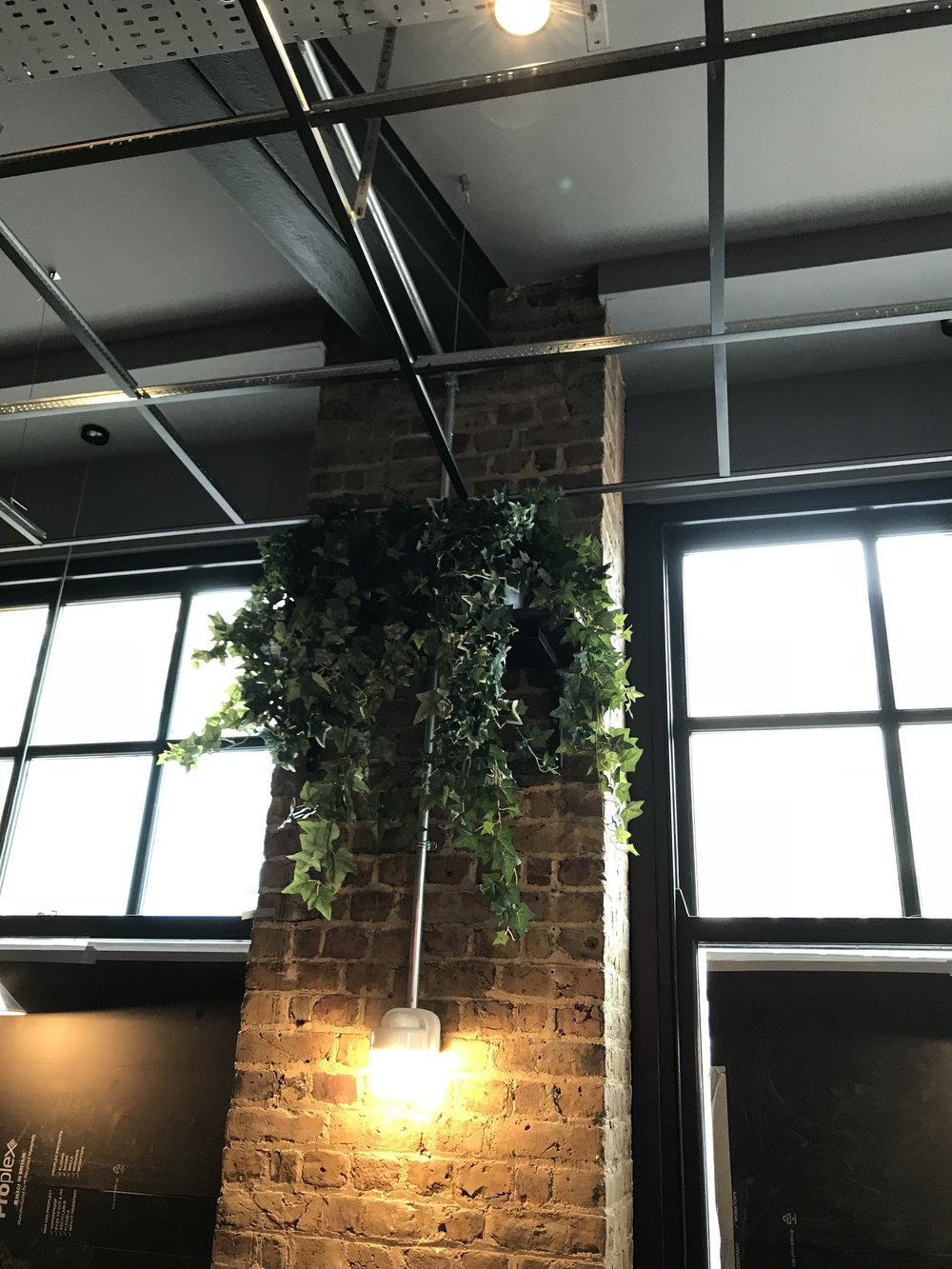 Artificial Ivy Plant Installation London