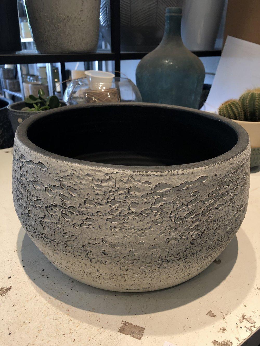 Cactus Bowl, Shallow bowl, glass bowl terrarium