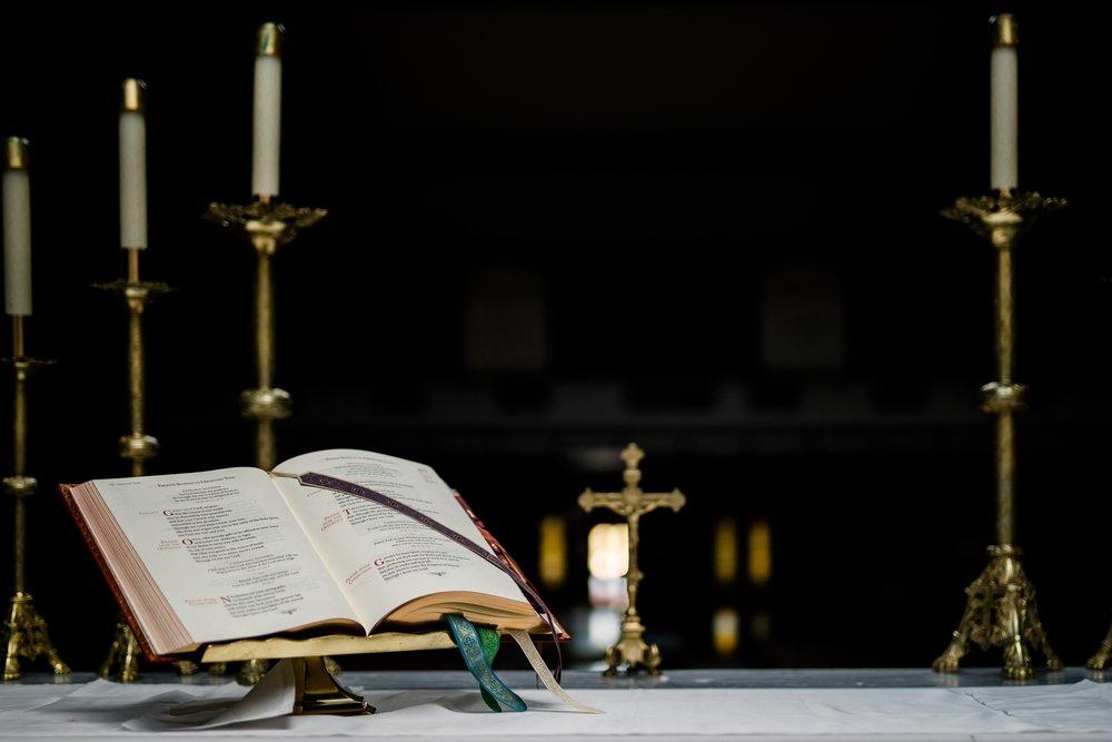 Masses at St. RIta are Monday-Saturday at 8:15am, Saturday at 4:30pm and Sundays at 8:30am, 10am, and 11:30am.