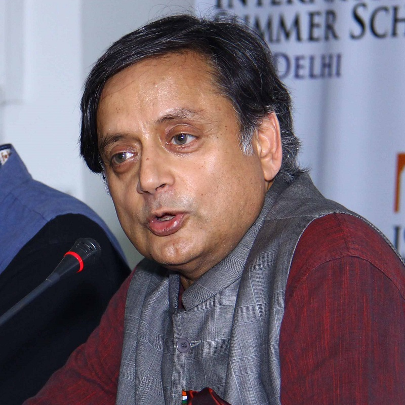 Dr. Shashi Tharoor, MP & Chairman of the Parliamentary Standing Committee on External Affairs