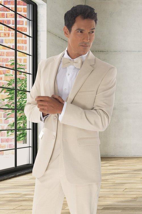 David Major | Tan Suit