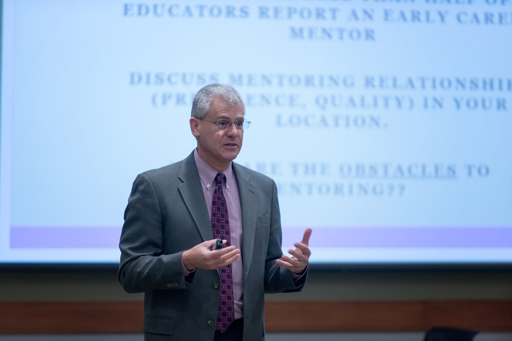 Faculty member Brad Johnson, United Stats Naval Academy
