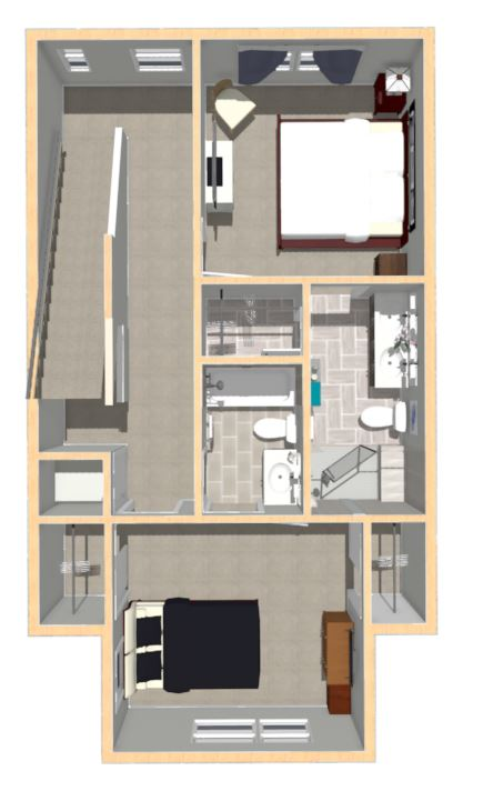 Floorplan Type 2 - Level 3