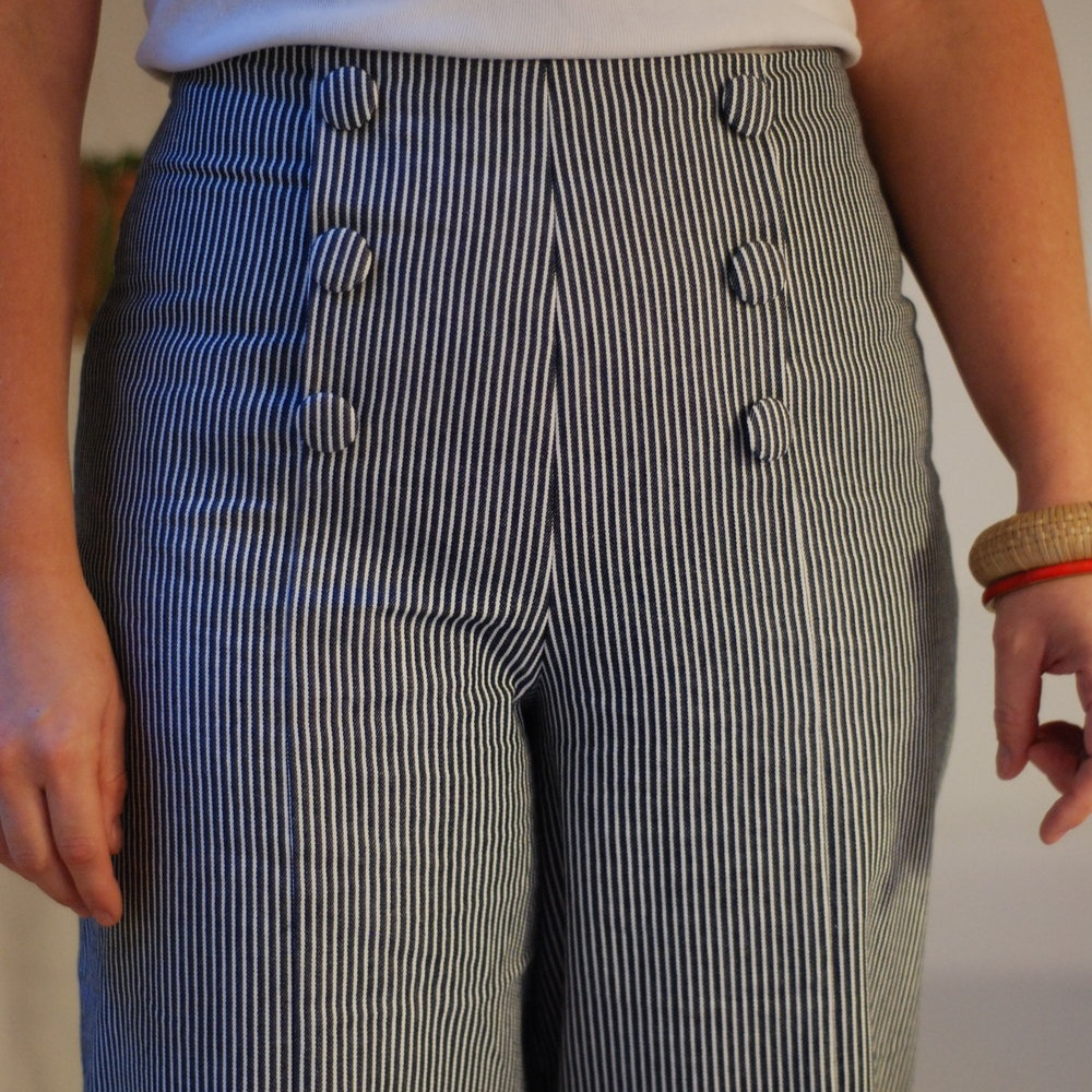 How to make sailor trousers -