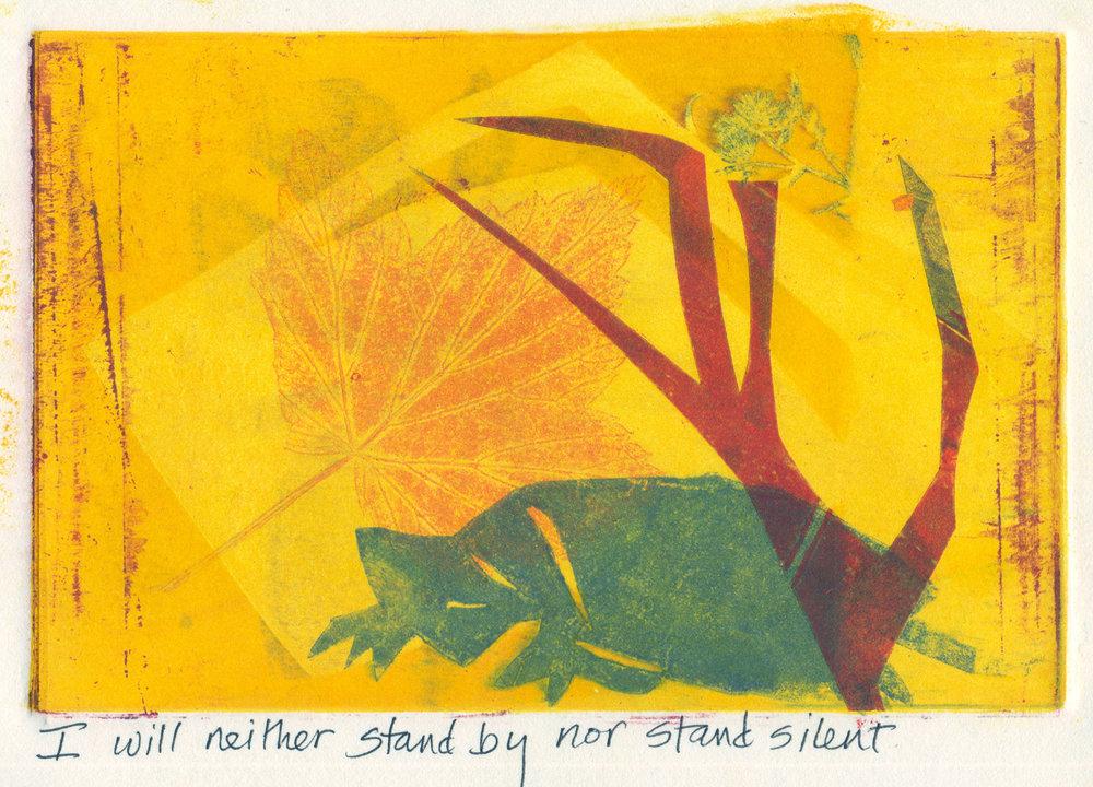 Not Standing Silent
