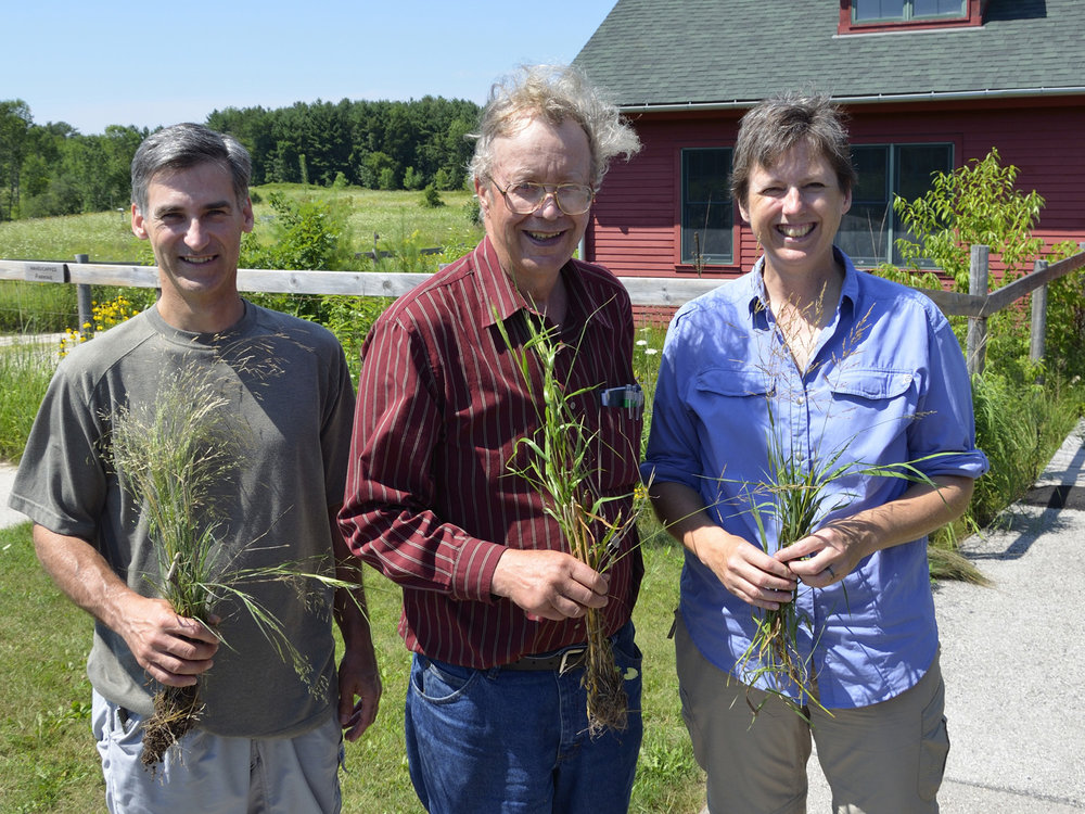 With Bob Freckmann, Grasses Workshop