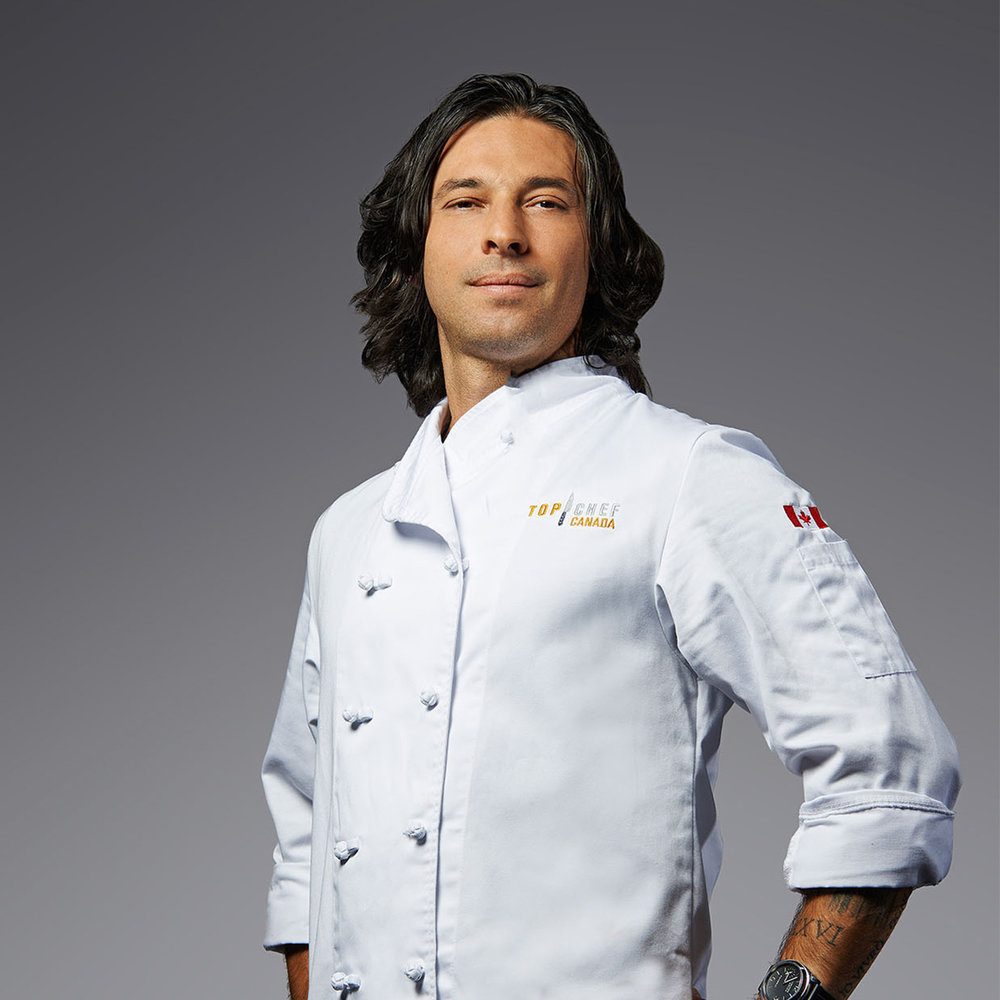 Chef René Rodriguez - Title Chef: Toronto and  MontrealIRON CHEF CANADA CONTENDER (2018)IRON CHEF CHALLENGE WINNER (2016)