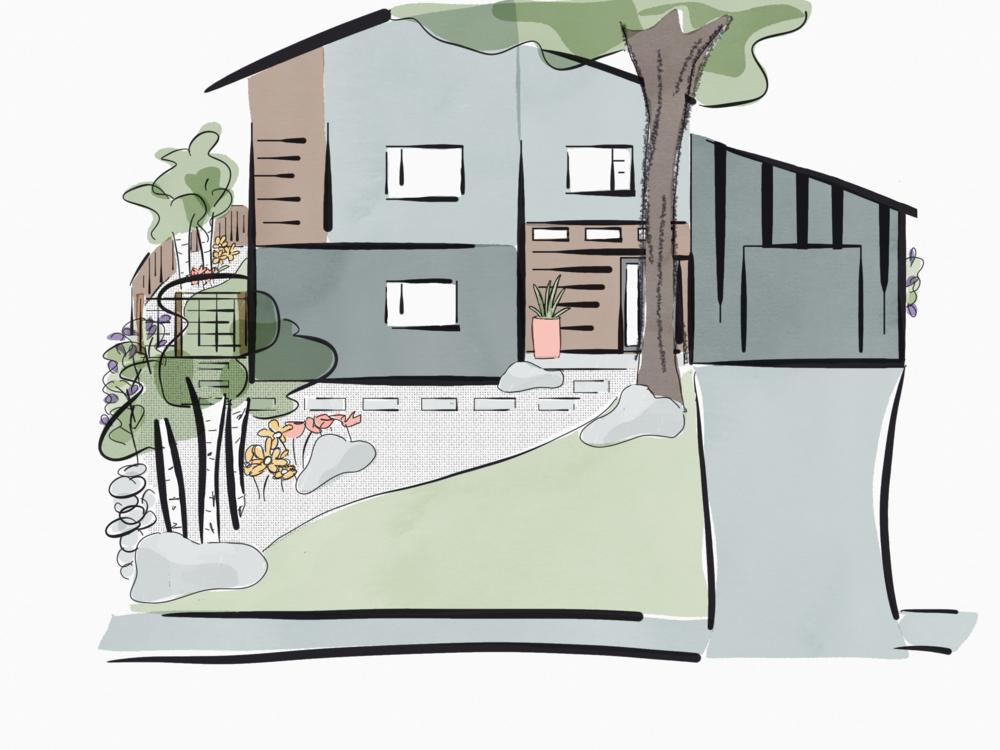 Landscaping Design, 100 riverview drive, Durango colorado