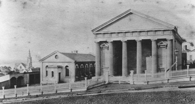 The Beresford Street Congregational Church, 1875