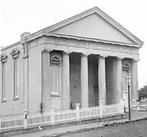 The new concrete church