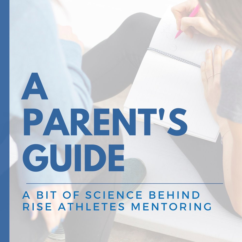 Parents - Check out the science behind the magic of RISE mentoring
