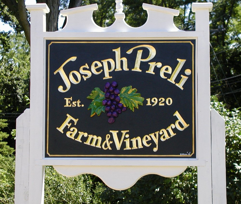 Then . . . - Joseph and Rose had six daughters who continued stewardship of the farm. The sisters carried on the tradition of making wine from the Concord grapes.