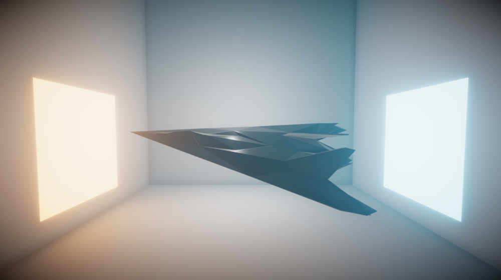 Rendered in Unity