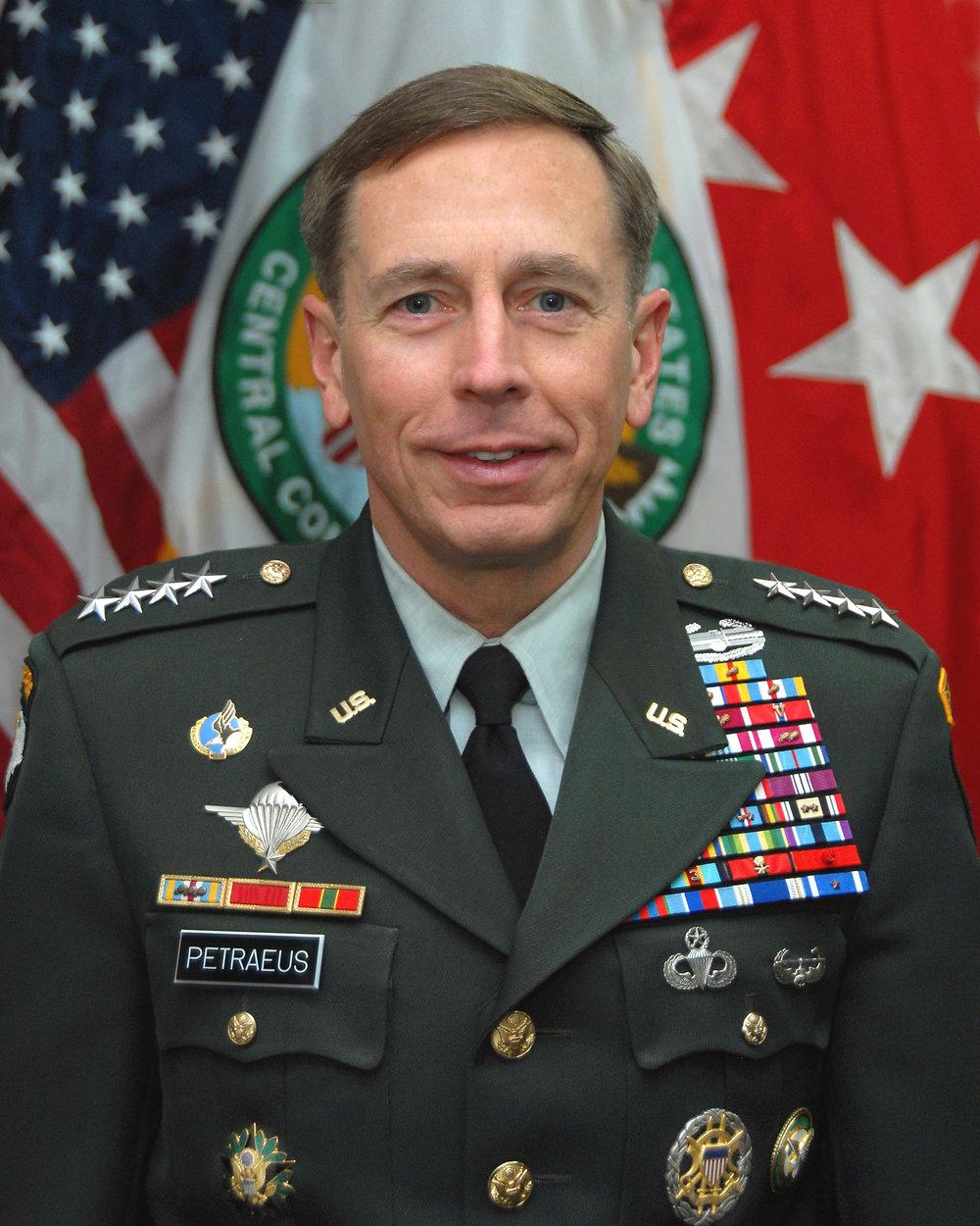 2008: General David H. Petraeus