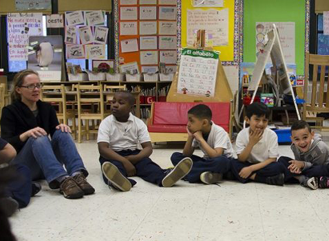 Students at a Women's Housing and Economic Development Corporation Head Start Program in the Bronx