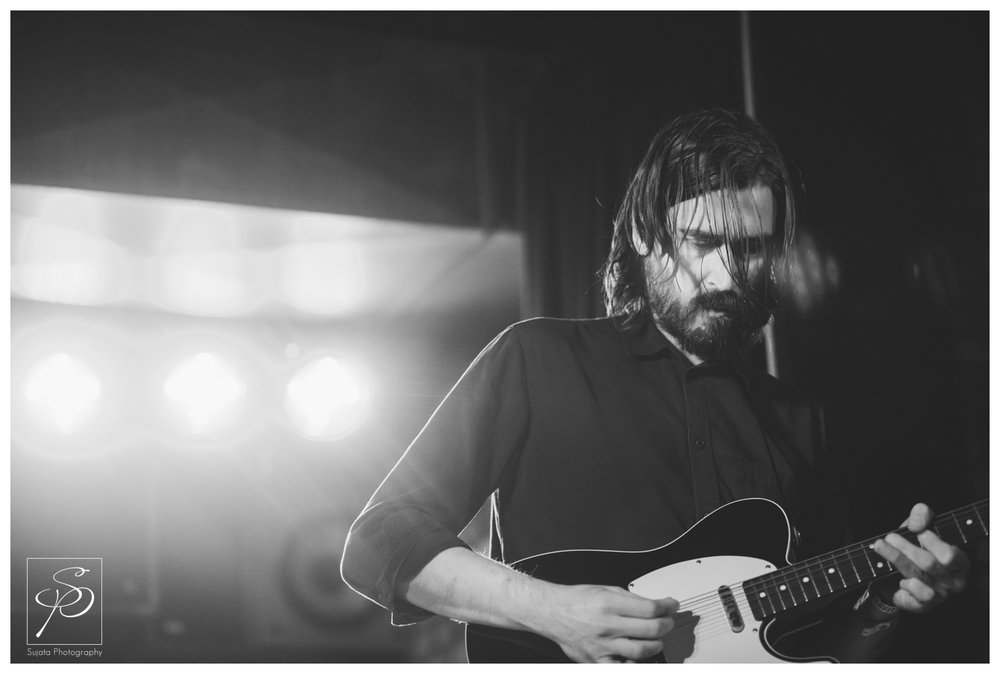 Disappears bassist playing Commonwealth Stage and Bar at Sled Island 2014