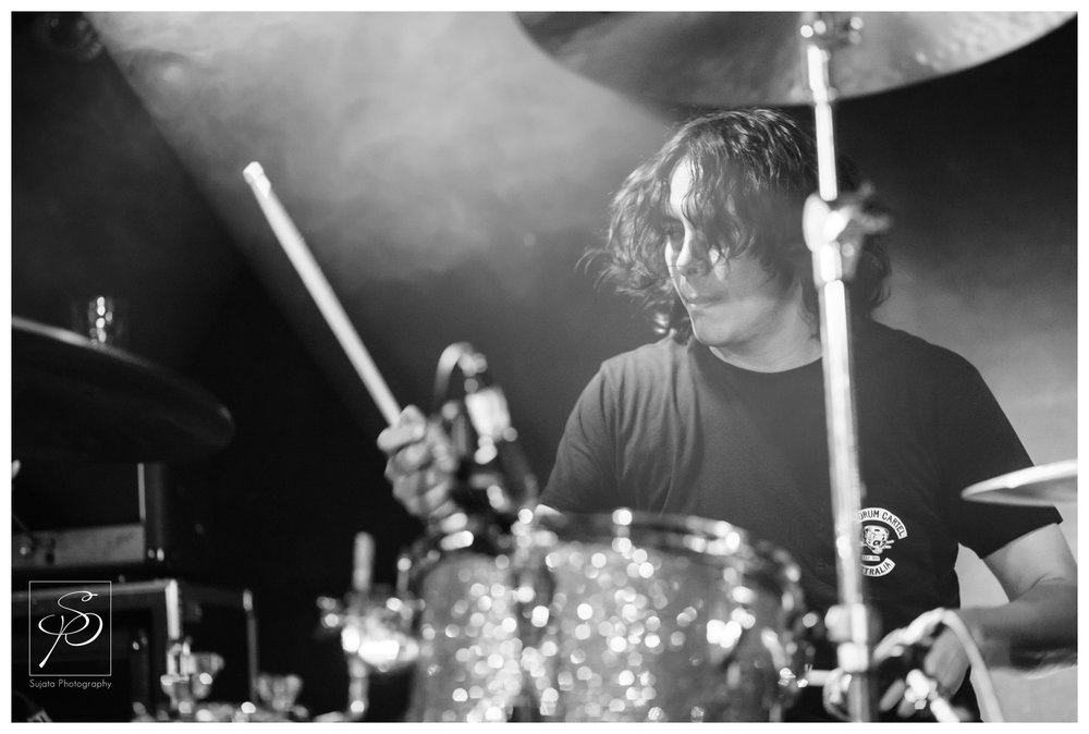 Earthless drummer playing Dickens Pub at Sled Island 2014
