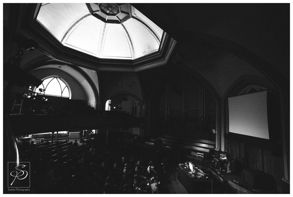 Sarah Davachi playing Central United Church at Sled Island 2014