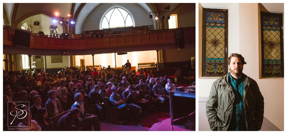 Oneohtrix Point Never playing Central United Church at Sled Island 2014
