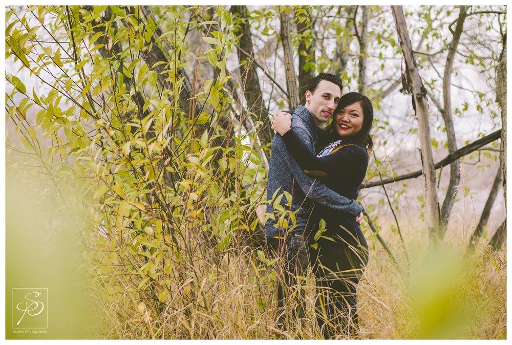 Portrait Calgary Engagement Photographer Crystal Sujata