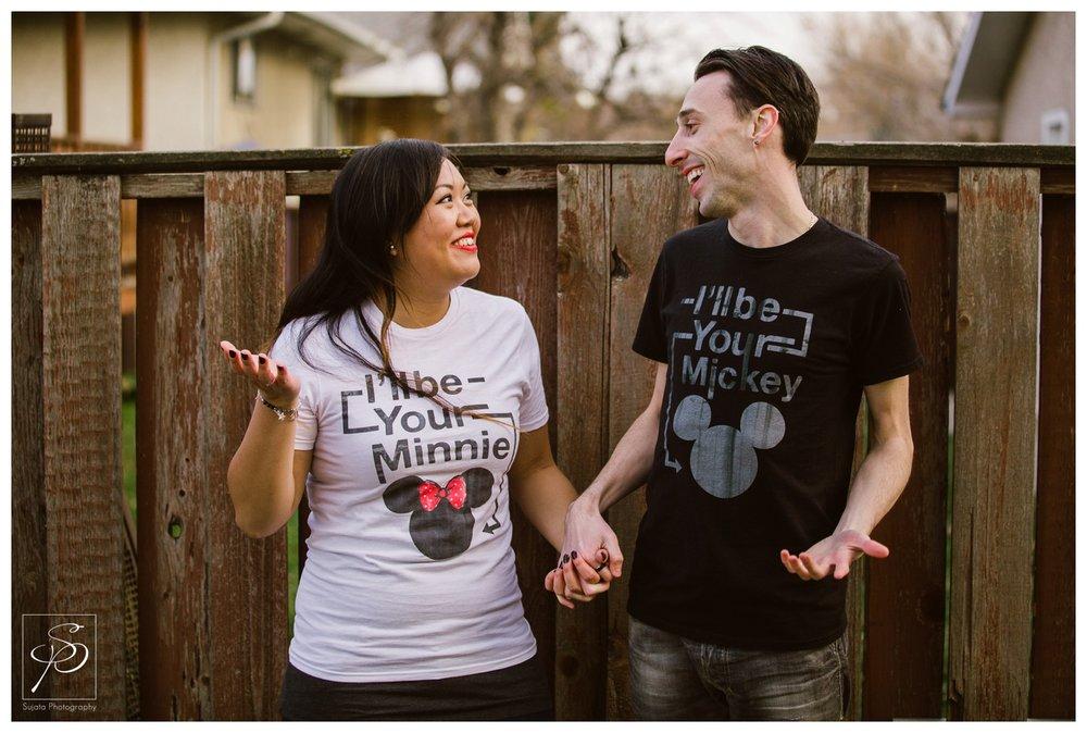 Disney portrait Calgary Engagement Photographer Crystal Sujata