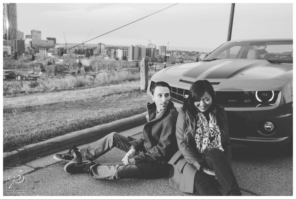 Camaro Calgary Engagement Photographer Crystal Sujata