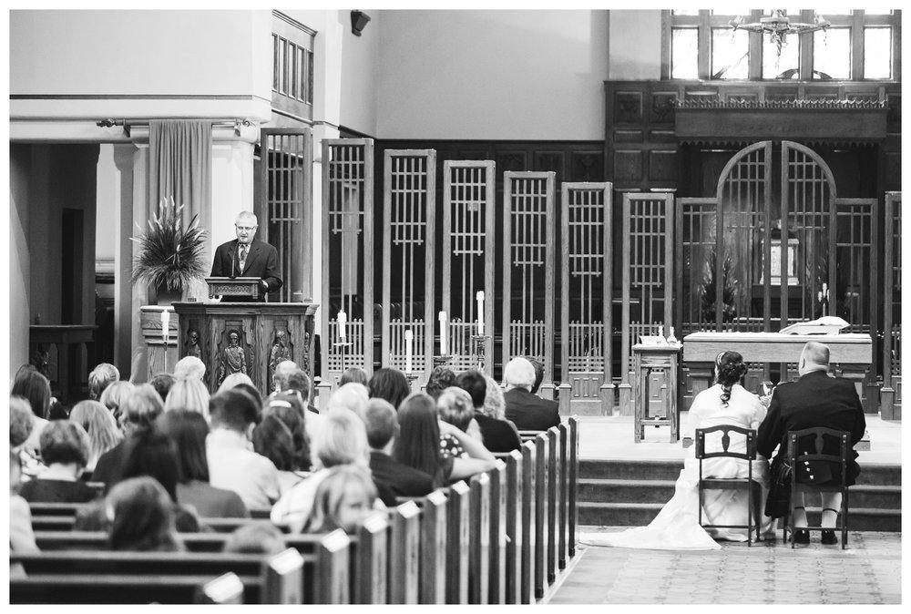 Catholic Ceremony at St. Mary's Cathedral Calgary