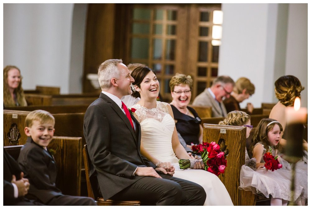 Catholic Cathedral wedding ceremony