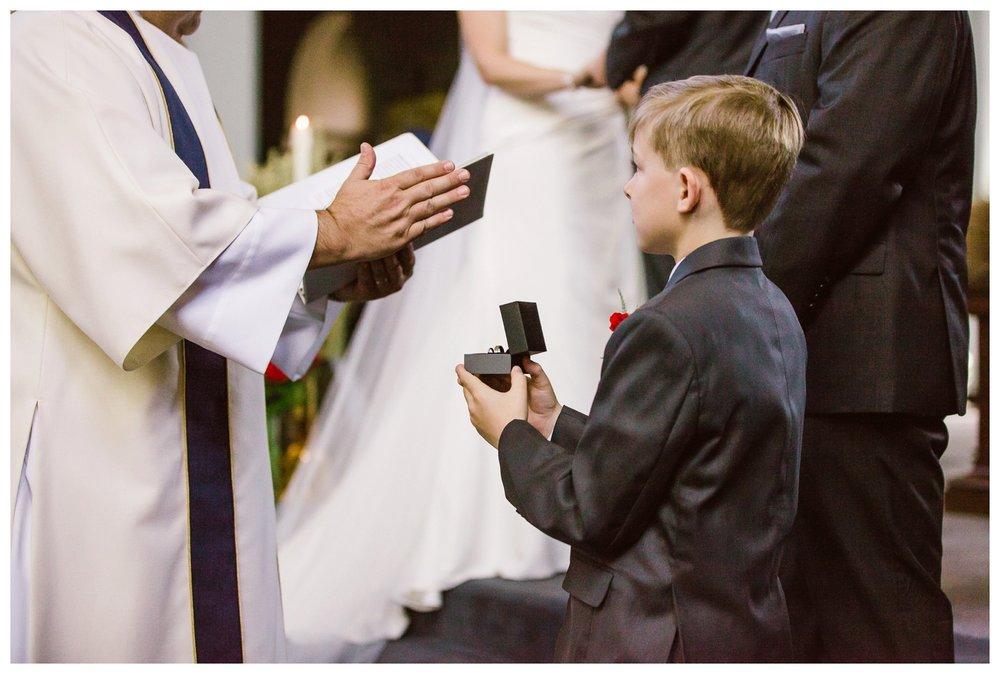 Ring blessing calgary catholic wedding ceremony