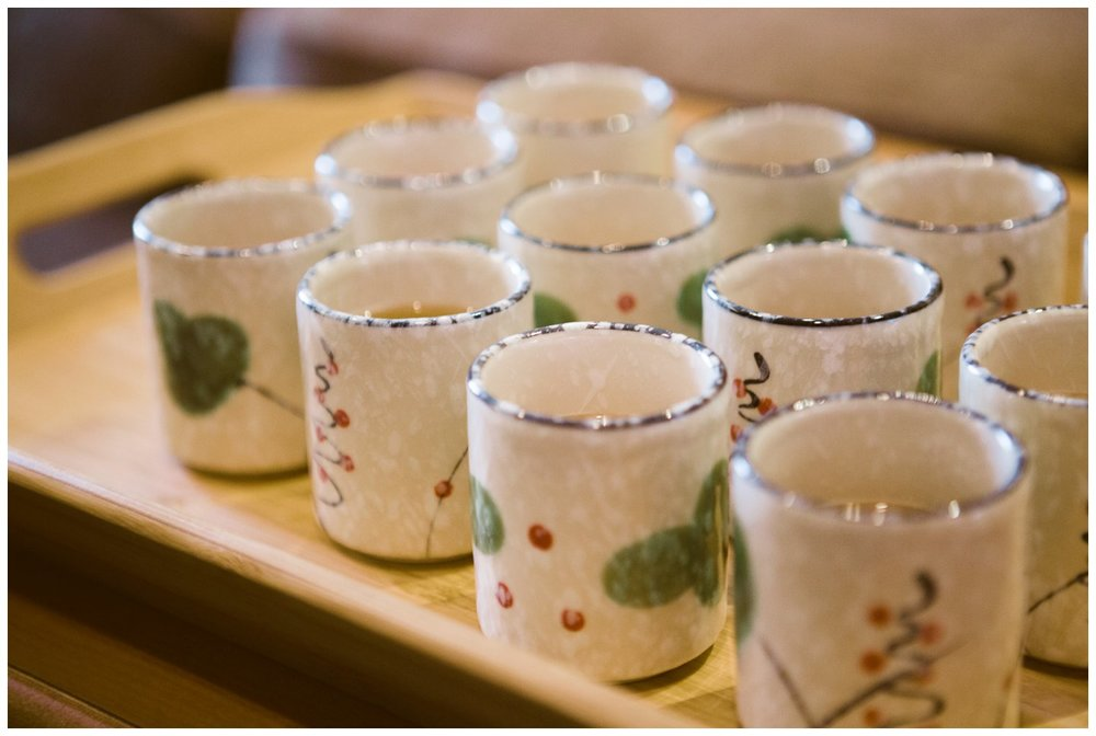wedding tea ceremony