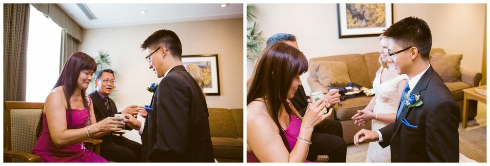 calgary tea ceremony wedding