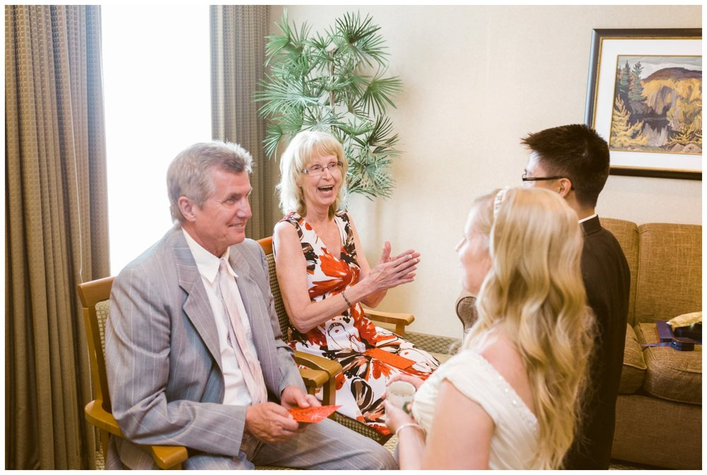 Carriage House Inn tea ceremony wedding