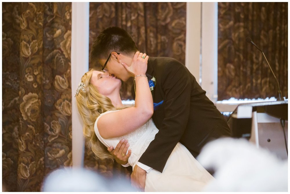 Kiss wedding reception Calgary