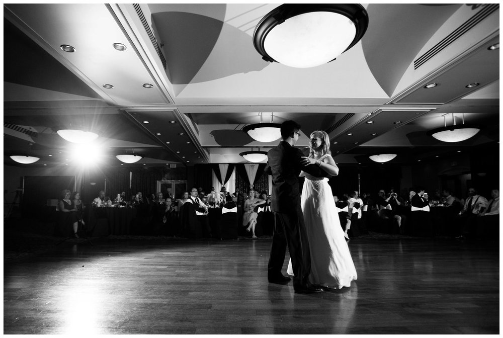 Dance Calgary Carriage House Inn Wedding