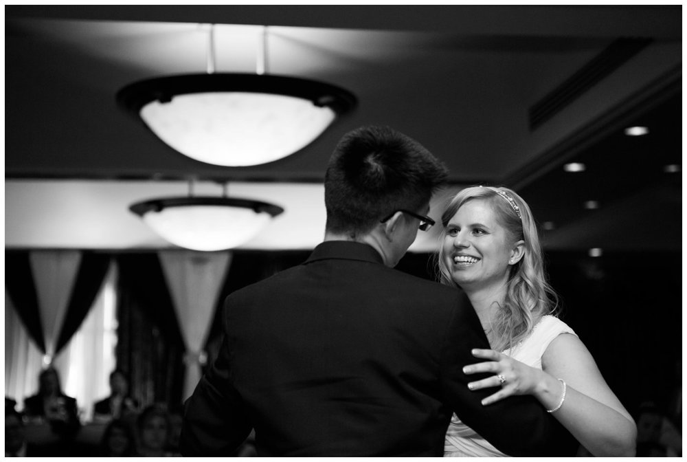 First Dance wedding reception Calgary