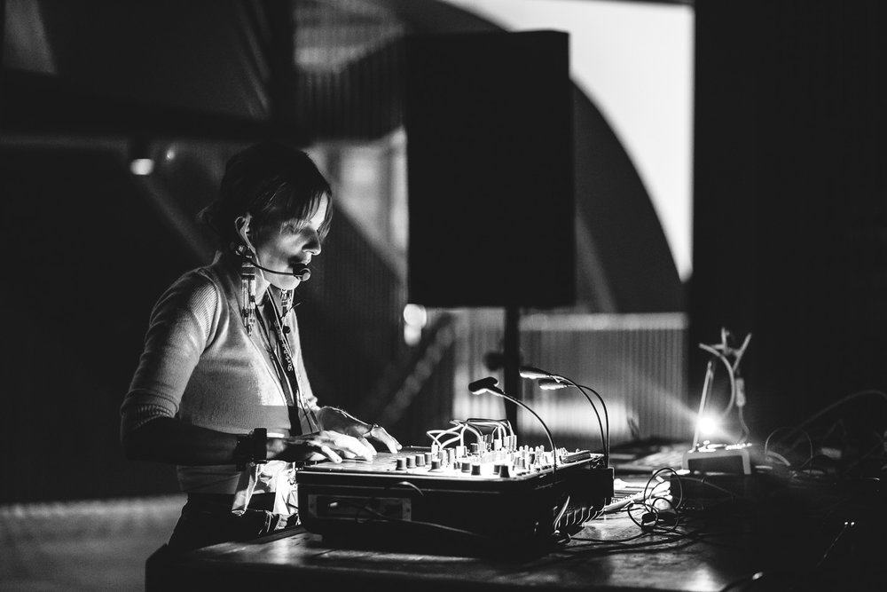 Kaitlyn Aurelia Smith at Studio Bell Sled Island 2017