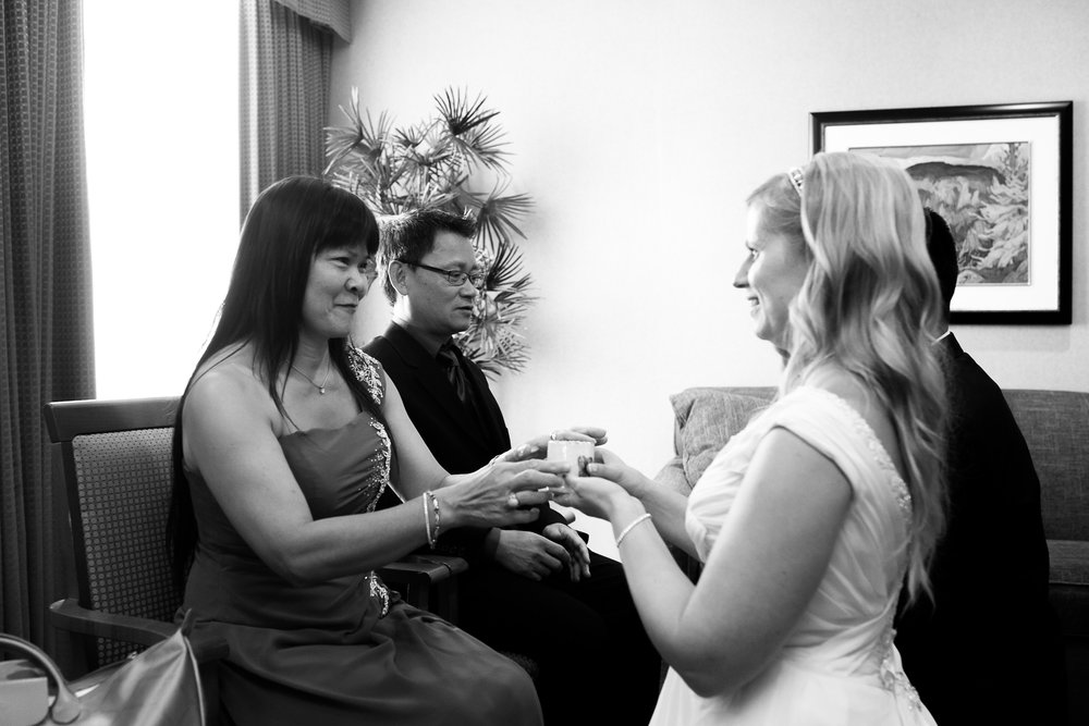 private wedding tea ceremony calgary