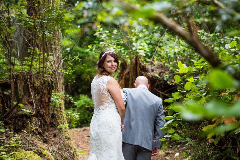 wedding tofino botanical gardens