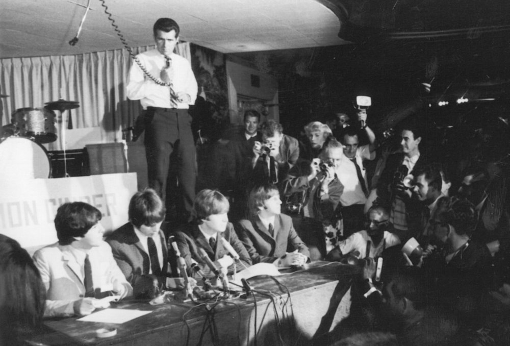 BOB EUBANKS and the BEATLES - …Press Conference at the Cinnamon CinderAugust 23, 1964