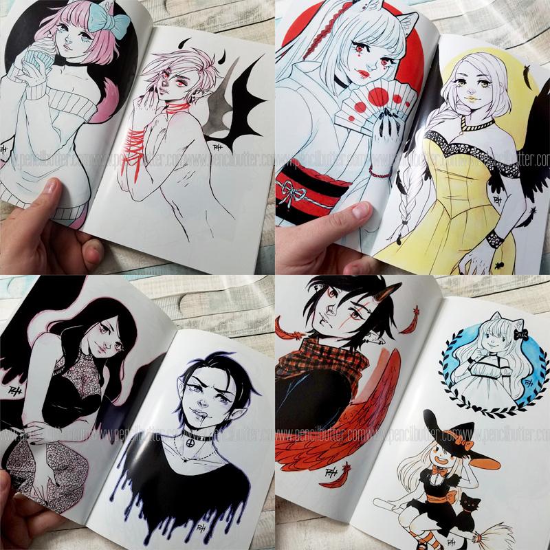 INKTOBER ART ZINE
