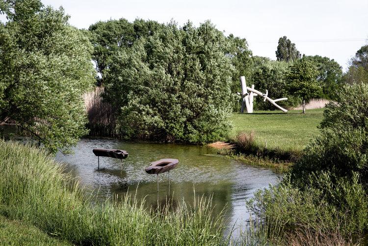 Mona Farm Contemporary Art Sculpture Garden Robert Barnstone