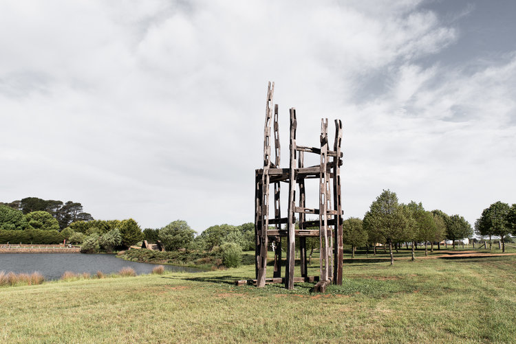 Mona Farm Contemporary Art Sculpture Garden Stephen King