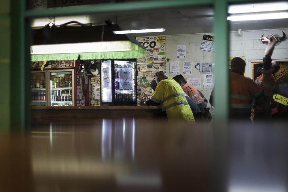 Miners' bar, Epsom,  2011  57x100cm, Pigment print on platine fibre paper  Series Info