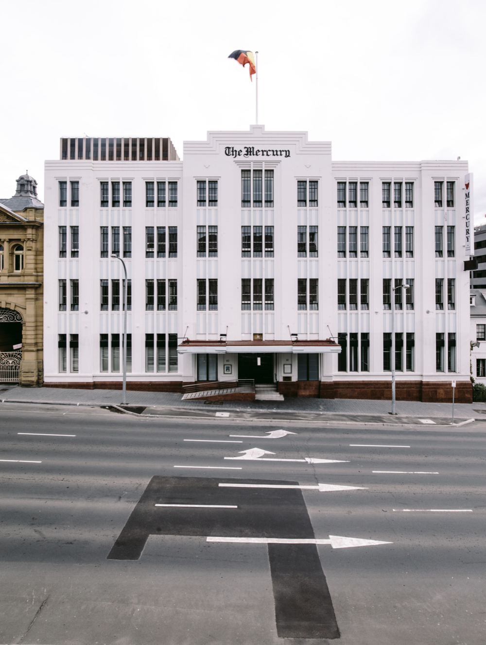 the old mercury building